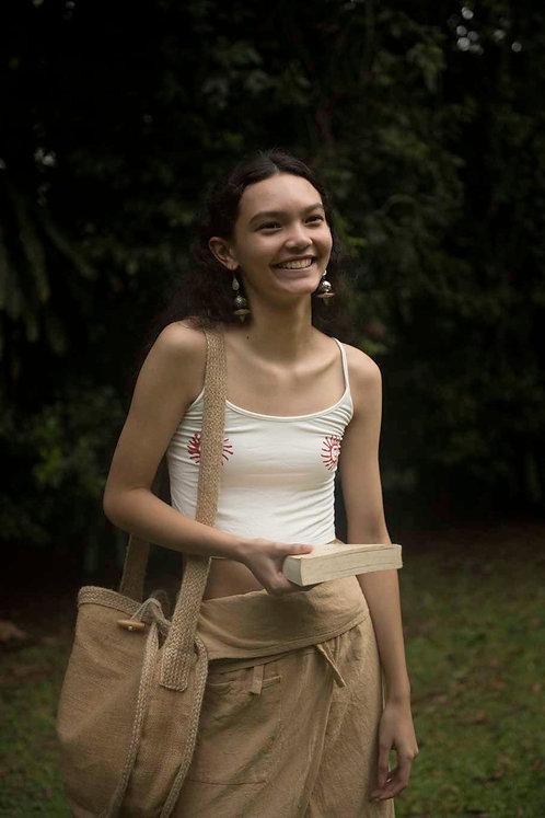 Dona Rice Circle Sling Bag