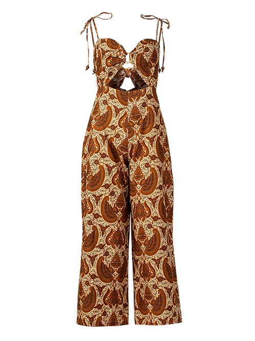 Garuda rattan ring jumpsuit