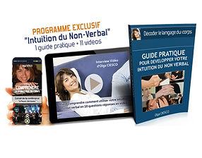 guide pratique et de 11vidéos sur le décodage du non verbal