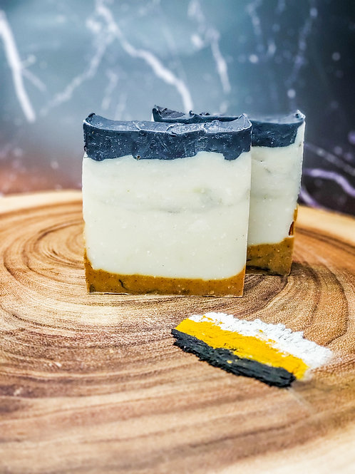 Charcoal Turmeric Clay