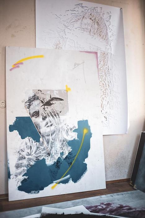 LEARN TO FLY - EISMANN.STUDIO urban contemporary handcut stencil art | deutschland | bayern | traunstein