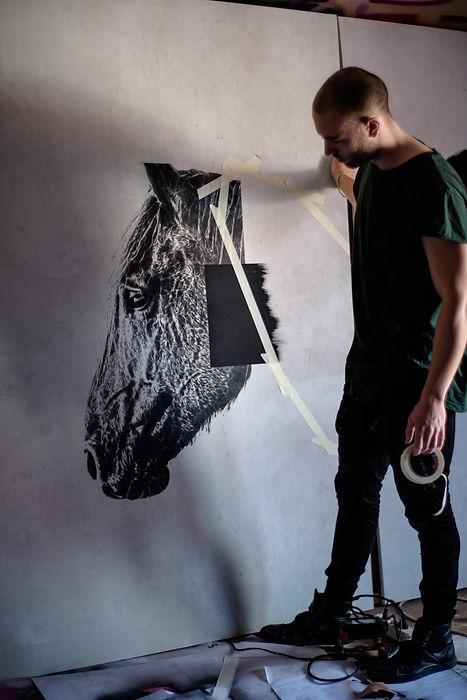 A BRIEF MOMENT - EISMANN.STUDIO urban contemporary handcut stencil art | deutschland | bayern | traunstein