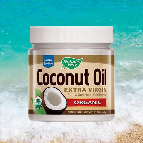 Nature's Way Extra Virgin Coconut Oil 16oz