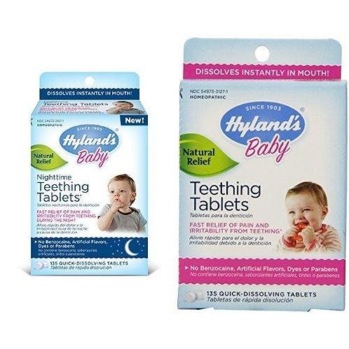 Hyland's Baby. Nighttime Teething Tablets