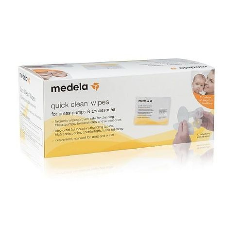 Medela Quick Clean Wipes (40ct)