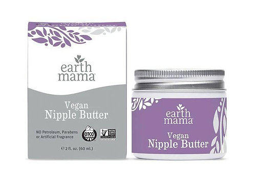 Earth Mama Vegan Nipple Butter 2oz/60ml
