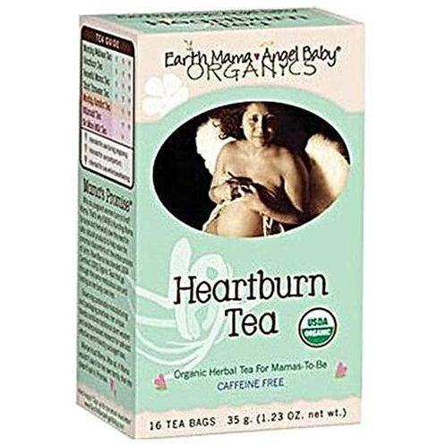 Earth Mama Organic Heartburn Tea 16 bags