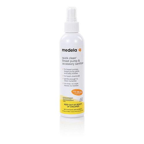 Medela Quick Clean BreastPump & Accessory Sanitizer Spray 8oz