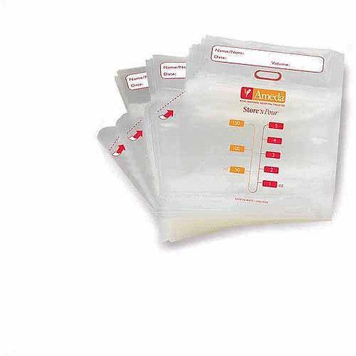 Ameda Store 'N Pour Breastmilk Storage Bags 40ct