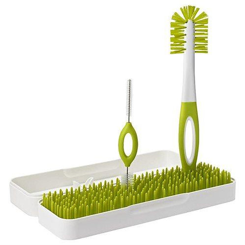 Boon Trip Travel Drying Rack and Bottle Brushes