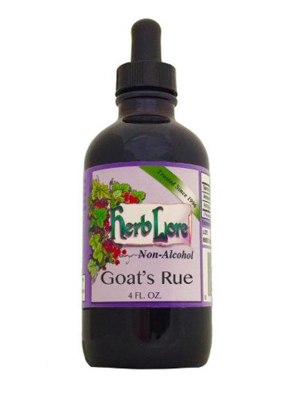 Herb Lore Goat's Rue Non-Alcohol Tincture 4oz or 2oz