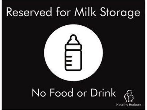 No Food Storage Magnet