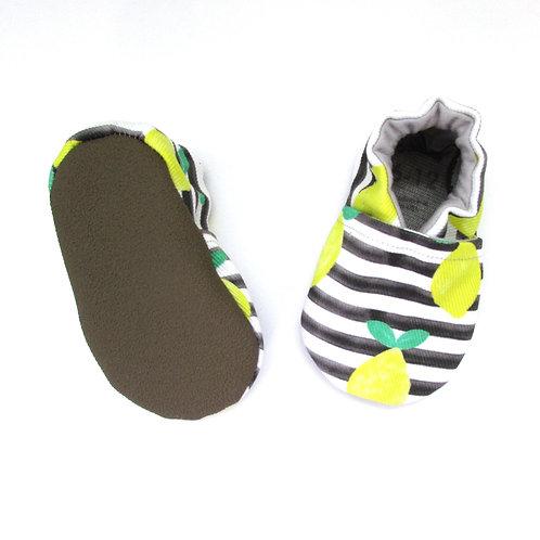 Cabooties Vegan Pattern Baby Shoes