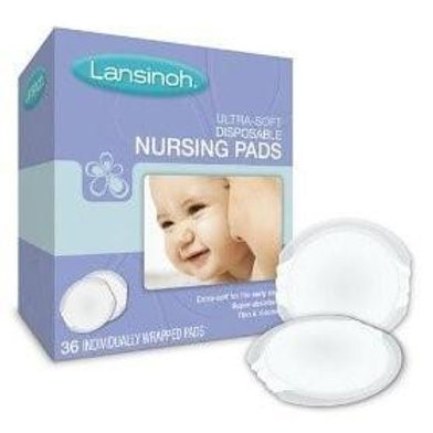 Lansinoh Ultra Soft Nursing Pads 36ct