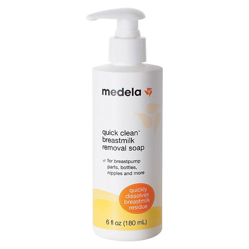 Medela Quick Clean Breastmilk Removal Soap 6oz
