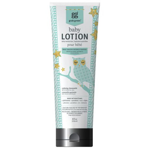Grab Green Baby Lotion Daily Moisturizer