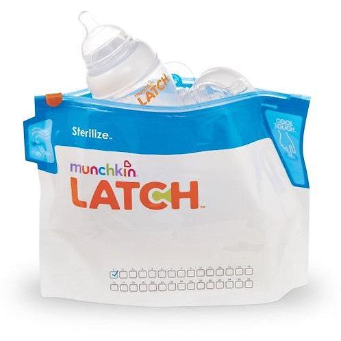 Munchkin Latch Steam Sterilizer Bags 6ct