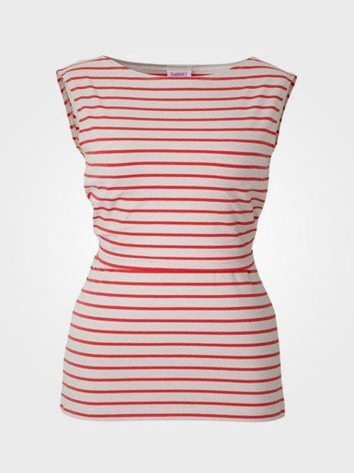 Boob Simone Pink and White Striped Nursing Tank Top