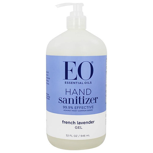 Lavender Hand Sanitizer Gel 32oz, 8oz, 2oz