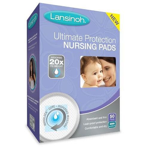 Lansinoh Ultimate Protection Nursing Pads 50ct