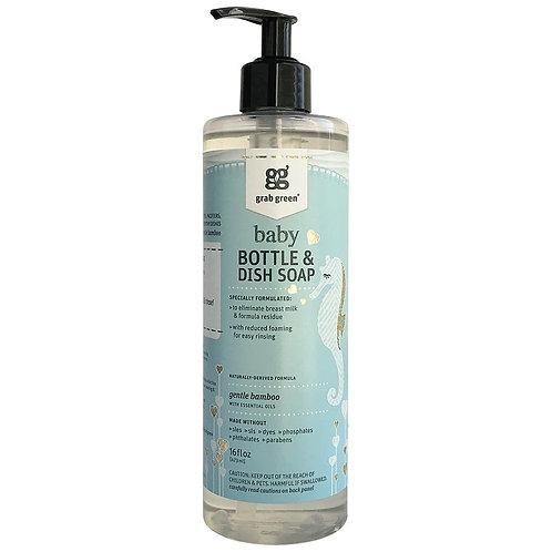 Baby Bottle & Dish Soap - Gentle Bamboo 16oz