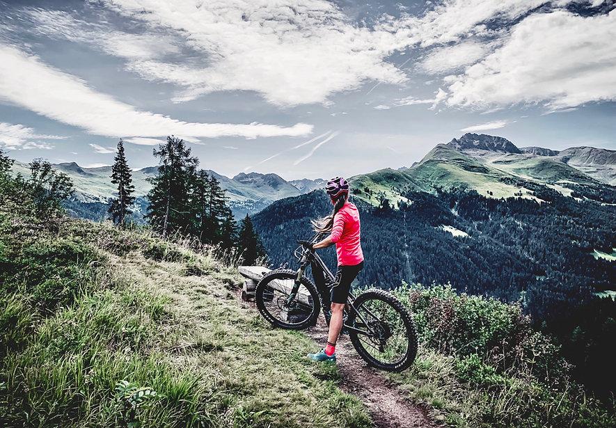 Mountainbike Bike Davos Klosters Bike Guide Sev Disch