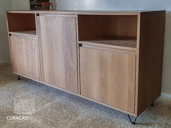 Sideboard 180x50x90cm - White oak