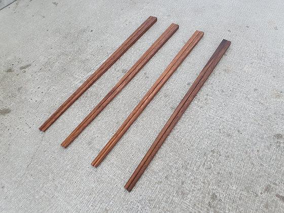 Walnut Chopsticks 4 pair