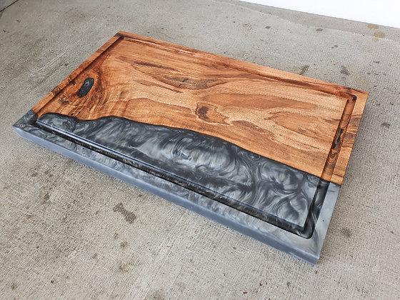Ambrosia Maple with Gun Metal epoxy - Board