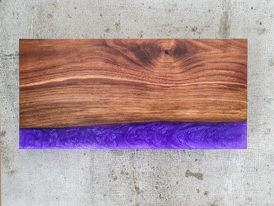 Walnut with Purple epoxy - Board