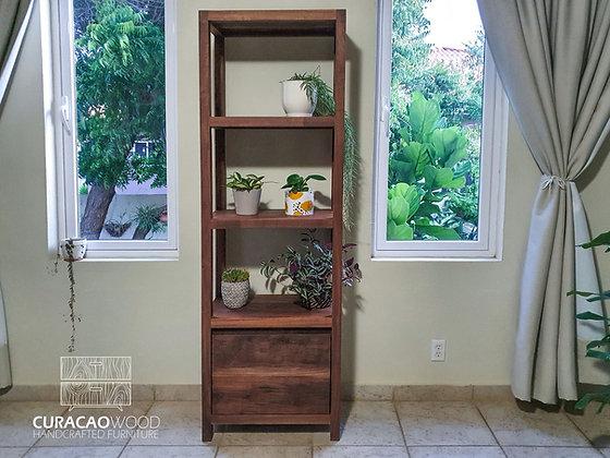Cabinet 190x80x40cm - Black walnut