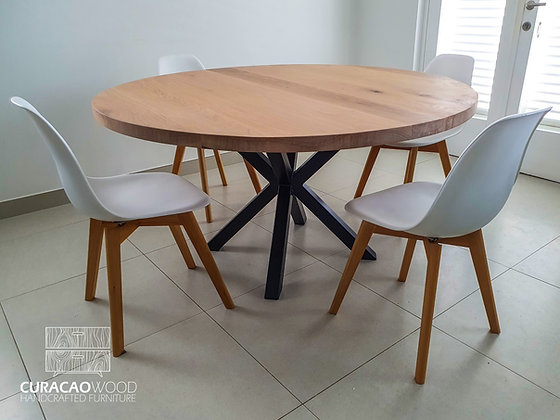 Dining Table Round - White Oak