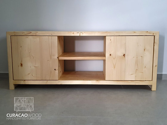 TV-Stand 150x40x60cm - Pine