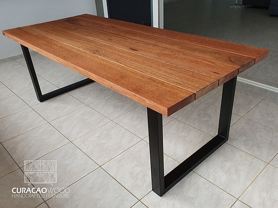 Outdoor dining table 220x100cm - Meranti
