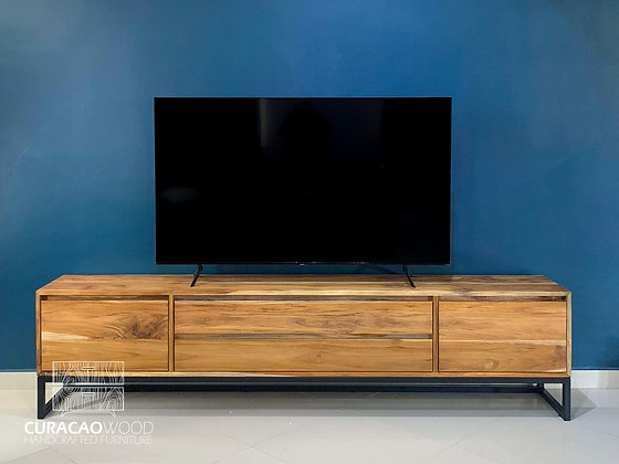 TV-Stand 240x45x55cm - Teak