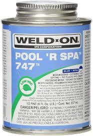 Glue - Blue Pool R Spa, .25 PT