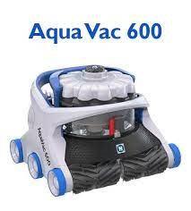 Aqua Vac 600 Robotic Cleaner w/ Caddy