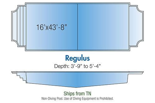"""Regulus, 16'x43'8""""x5'4"""""""