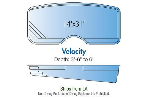 Velocity, 14'x31'x6'