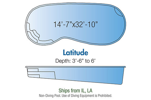 """Latitude, 14'7""""x32'10""""x6'"""