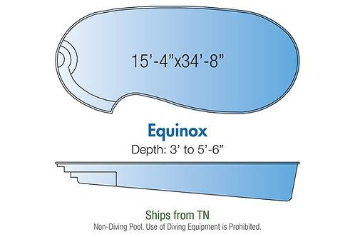 "Equinox, 15'4""x34'8""x5'6"""