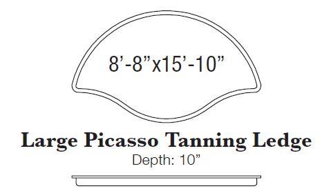 Picasso Tanning Ledge