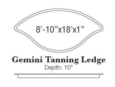 Gemini Tanning Ledge
