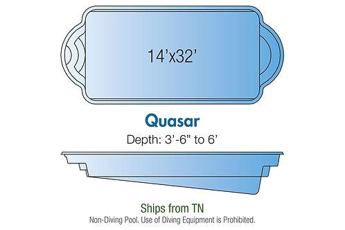 Quasar, 14'x32'x6'