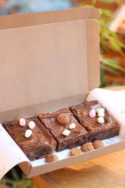 Sint brownies per post (3 of 5st)
