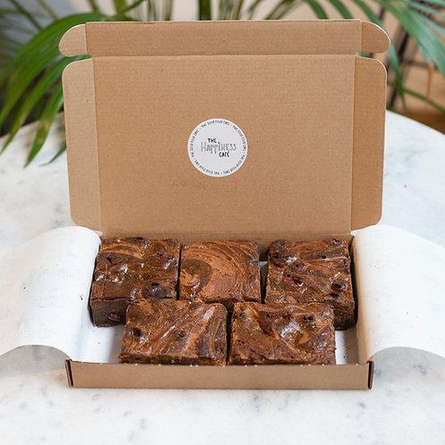 Brownies per post 5 stuks
