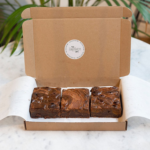 Brownies per post 3 stuks