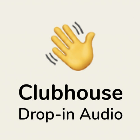 The sharing economy on Clubhouse