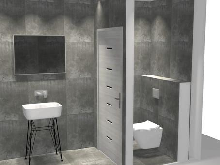 Projektowanie łazienki w lokalu użytkowym