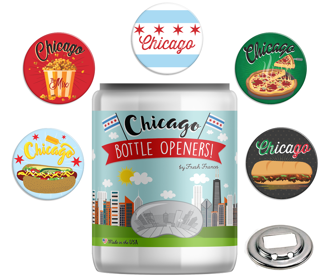 Chicago Bottle Openers